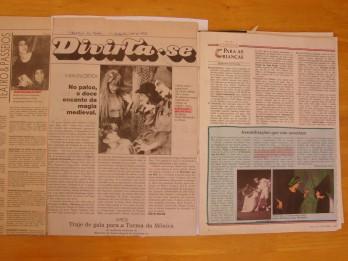 Ju A bruxinha que era boa jornais 1991