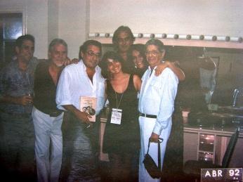 Tiao Neto, Ruy Castro, Juliana Areias, Wanda Sa, Luizinho Eca