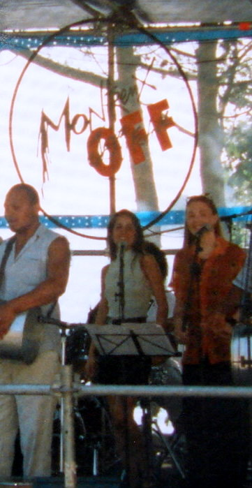 Pedrinho, Juliana Areias and Virginia Pedrazanni at Montreux Jazz Festival 1998