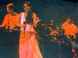 Rubens Diniz, Juliana Areias and Paulo Sariga at Atelie Volant in Lausanne, Switzerland 1997