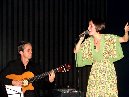 So Brazil first concert 2009 - Juliana Areias, Jose Henrique Alves produced by Brazilian Zest -Cema Santos