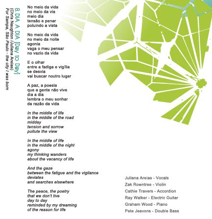 Song 8 Dia a Dia Juliana Areias Bossa Nova Baby