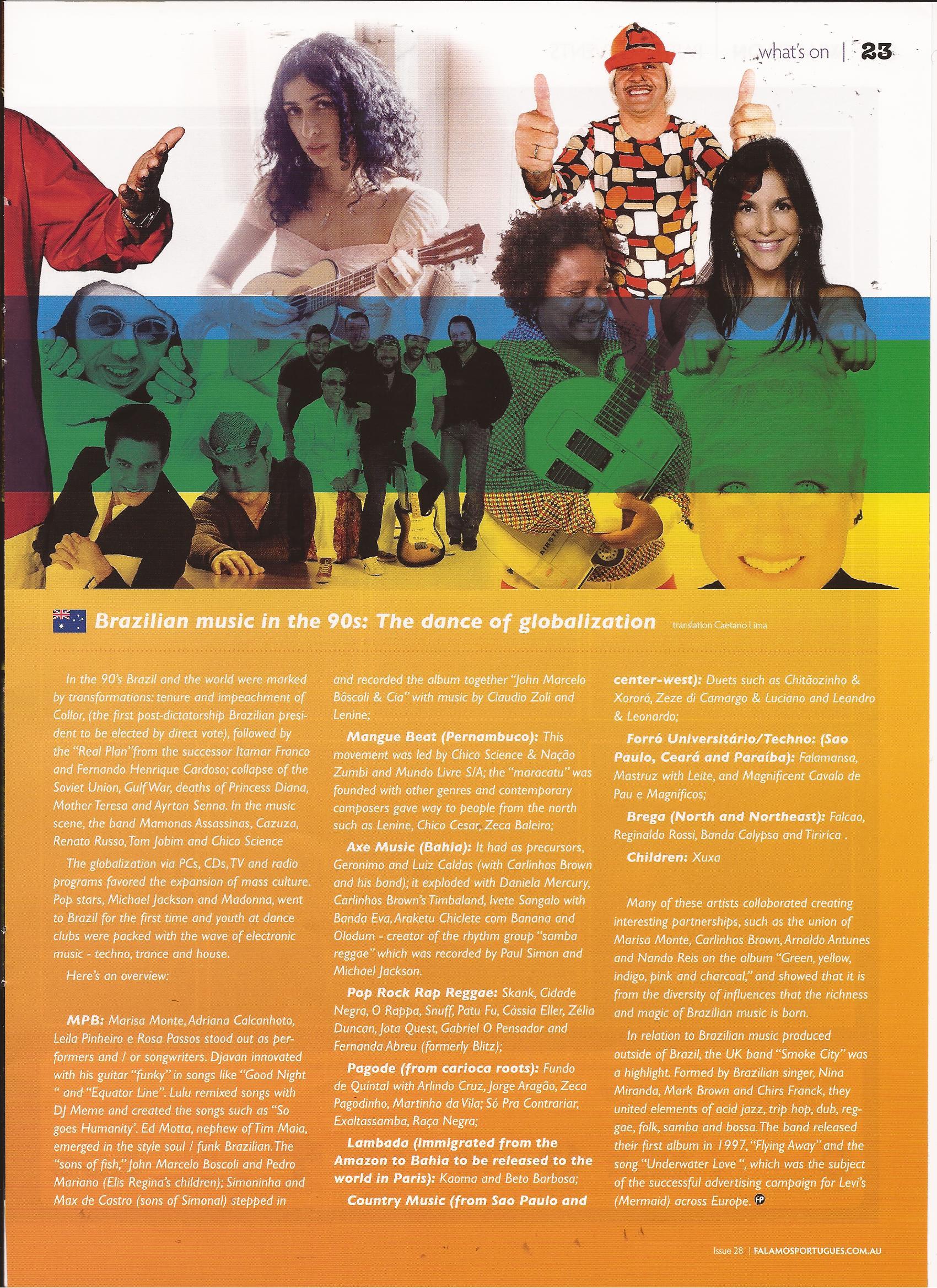 6 – 90's Brazilian Music – The dance of Globalization