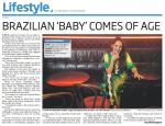 COMMUNITY NEWS ARTICLE JULIANA AREIAS BOSSA NOVA BABY