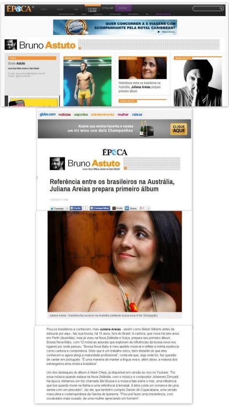 EPOCA REVISTA 10 MArch 2014 Juliana Areias Bruno Astuto IMAGE