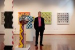 Geoffrey DB Looking Glass Solo Exhibition Linton and Kay 2016 Western Suburbs Newspaper