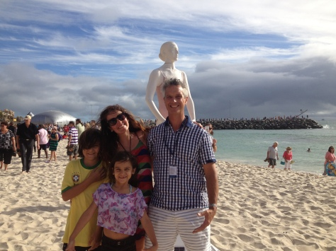 Geoffrey Drake-Brockman Juliana Areias Jobim Lilas Solar Jayne 2014 Sculpture bu the Sea Cottesloe