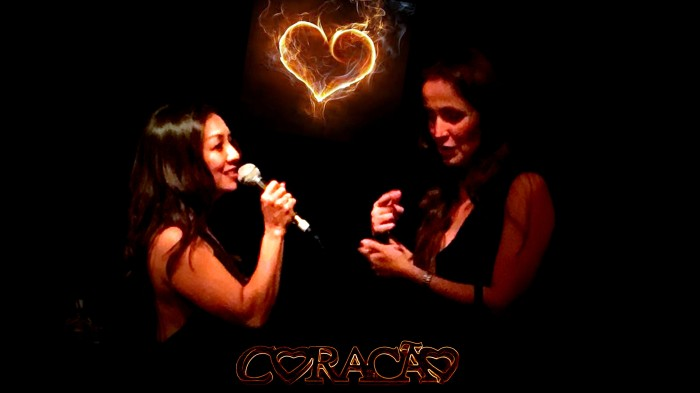 Coracao show Brenda Lee and Juliana Areias Poster 3