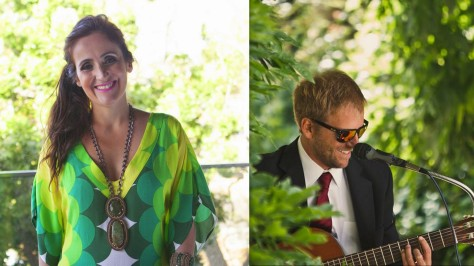 Juliana Areias and Edu Ruaro 2 Tropical Travels Show Ellington Jazz Club 2016