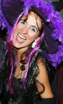 Juliana Areias Halloween 2010 in Perth, Australia.