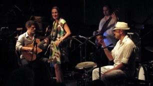 Juliana Areias band 2011 feat Glenn Rogers, Pete Jeavons, Marcio Mendes