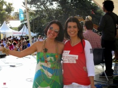 Juliana Areias and Claudia Rondon at Sydney Darling Harbour - Ritmo Festival