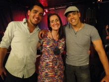 Leandro Cezarino, Juliana Areias, Marcio Mendes at Freo by Night