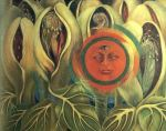 Art Frida Kahlo Sun and Life painting Juliana Areias website