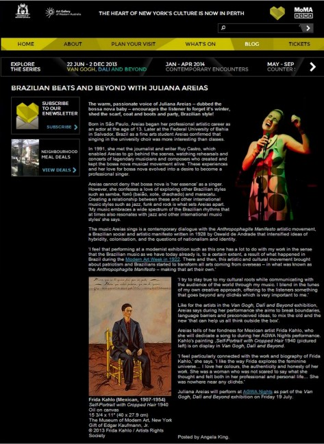 Art Gallery Juliana Areias Article image