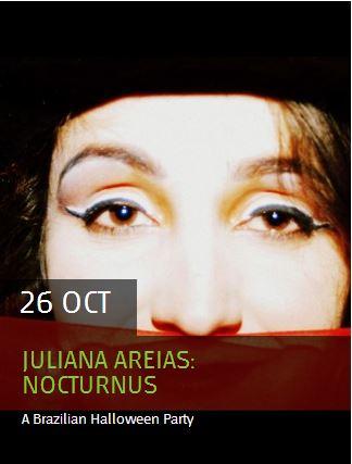 Juliana Areias Nocturnus - A Brazilian Halloween PArty Kulcha
