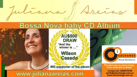 Campaign Draw Oi Exchange Juliana Areias Pozible Bossa Nova Baby 5
