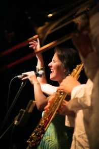 Juliana Areias - Bossa Nova Baby CD Launch at The Ellington Jazz Club