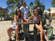 Juliana Areias Brazilian Tour - Itapua, Salvador, Vinicuis de Moraes Statue - Juliana Areias, Jobim and Lials Areias da Mata