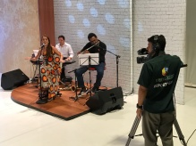 Juliana Areias Brazilian Tour - Fortaleza - TV Globo show - Jan 2017