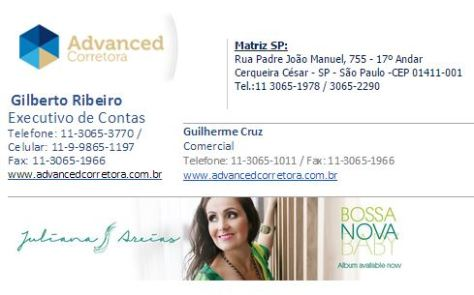 Advanced Sao Paulo logo Juliana Areias Money transfer from Brazil to Australia