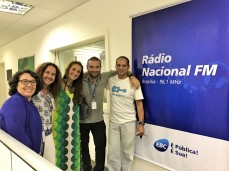 Radio Nacional - Brasilia - Juliana Areias Brazil Tour Jan 2017