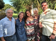 Ruy Fabiano and Juliana Areias families in Brasilia, Jan 2017