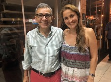 Marcio Catunda and Juliana Areias in Brasilia 2017