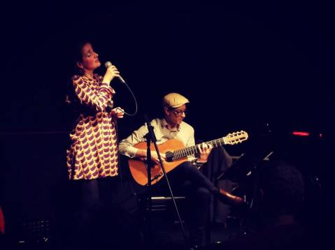 Juliana Areias and Mike Vivo Show at the Ellington Jazz Club 2017