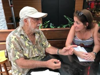 Roberto Menescal e Juliana Areias