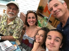 Roberto Menescal, Juliana Areias, Jobim, Lilas and Geoffrey Drake Bockman 2016 - Juliana Areias - Brazil Tour