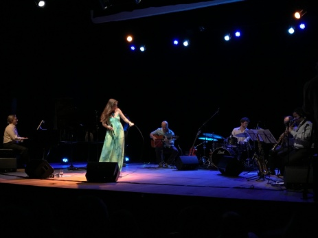 Juliana Areias Brazilian Tour with Jazz Sinfonica de Sao Paulo quintet , Dez 2016