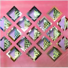 Geoffrey Drake Brockman Looking Glass Solo Exhibition Pink Squares Linton & Kay Gallery