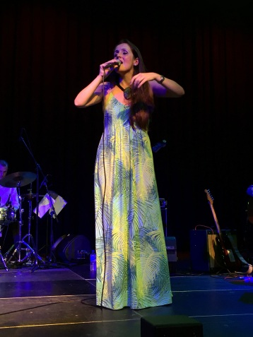 Juliana Areias in a Cairns Taks Arts Center