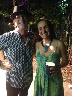 Tony Hillars and Juliana Areias in Cairns Tanks Arts Centre