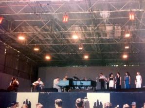 Antonio Carlos Jobim band at Ibirapuera Park, Sao Paulo 1993