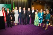AuBrBc Carlos Abreu Embassador all Juliana Areias at Sydney Opera House Brazil at the Harbour Bossa Nova Baby