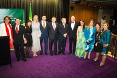 Juliana Areias and Brazil-Australian Diplomatic Ceremony at the Sydney Opera House