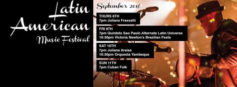 Ellington Latin American Music Festival  2016