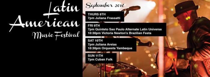 Ellington Latin American Music Festival  2016