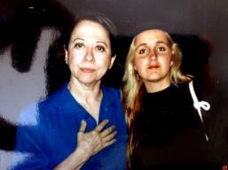 Fernanda Montenegro and Juliana Areias 1988