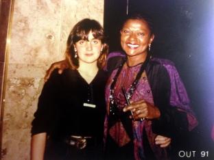 Juliana Areias and Alayde Costa 1991