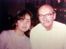 Juliana Areias and Billy Blanco 1991