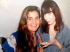 Juliana Areias and Rita Lee 1990