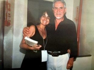 Juliana Areias and Tiao Neto bassist of Tom Jobim 1992