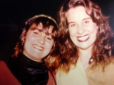 Juliana Areias and Wanda Sa 1991