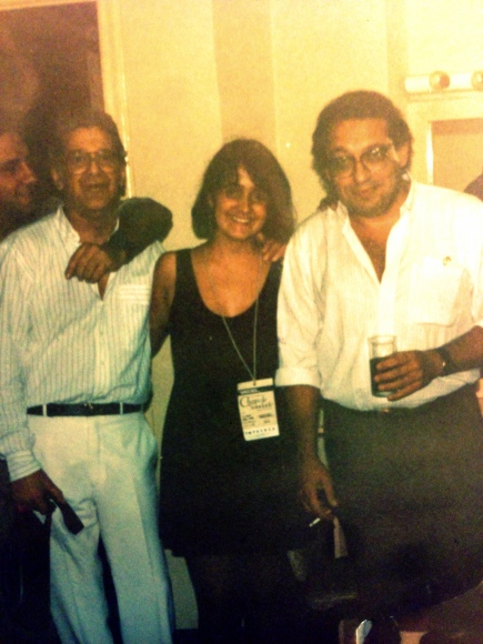Luiz Eca, Juliana Areias, and Ruy Castro