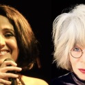 Juliana Areias Channels Rita Lee half faces