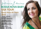 Juliana Areias Bossa Nova Baby USA Bossa Nova 60 years 60 anos Tour poster full