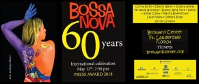 Press Award Bossa Nova 60 Years USA tour Juliana Areias Bossa Nova Baby BANNER